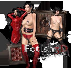 3D Fetisch Latex Porno und pervers BDSM Bondage Sex